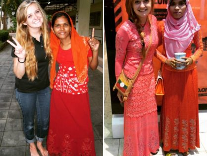 From Average White Girl to Rohingya Princess