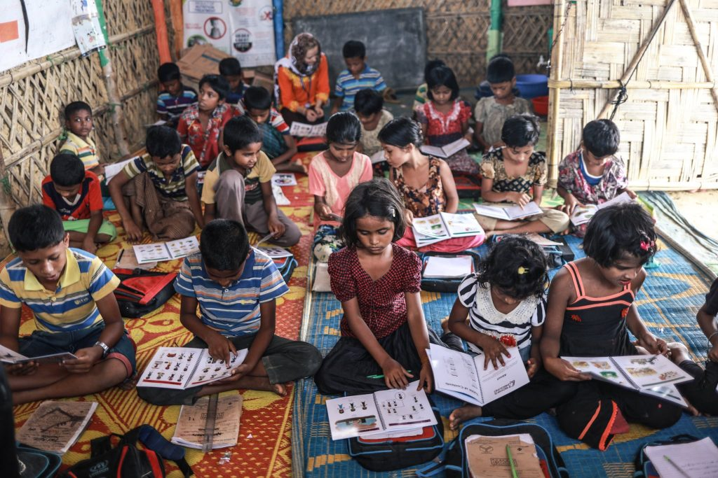 Education for Rohingya refugees | Books Unbound