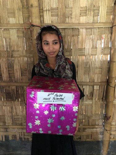 Coloring books for Rohingya children